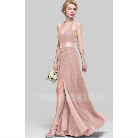 JJs House Dresses | Nwt Blush Gown Bridesmaid Dress Prom | Poshmark